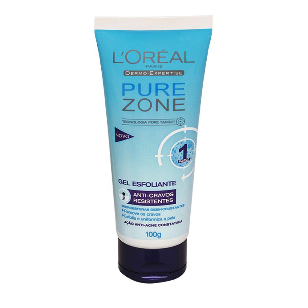 Esfoliante Anti Cravos Loreal Dermo Expertise Pure Zone 100g