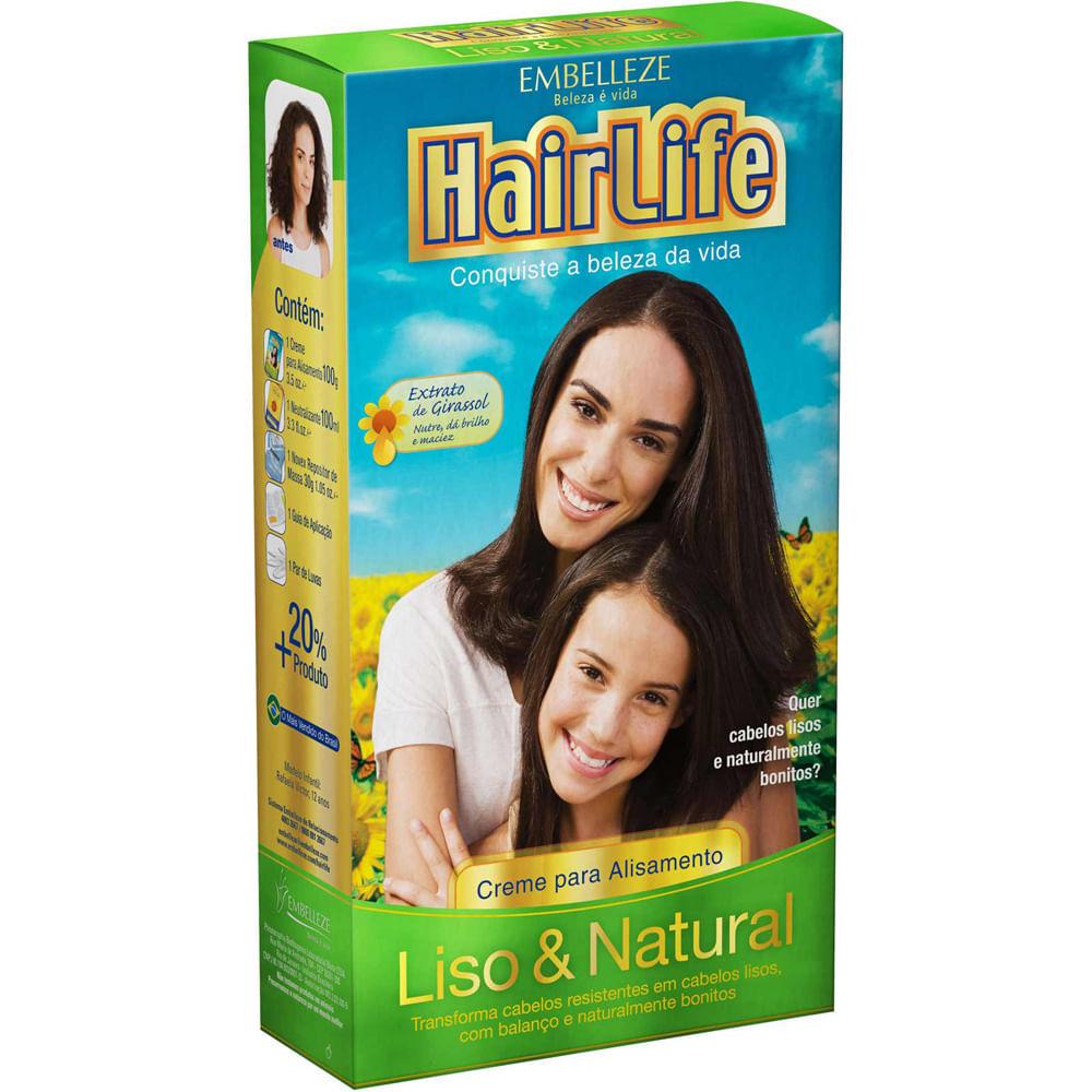 HairLife Liso & Natural Manteiga Karite