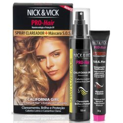 Kit-Nick---Vick-California-Girl-Spray-Clareador-100ml---Mascara-SOS-Fios-11257.00