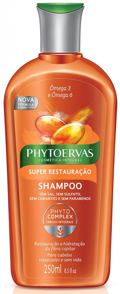 Shampoo Phytoervas Complex Super Restauração 250ml