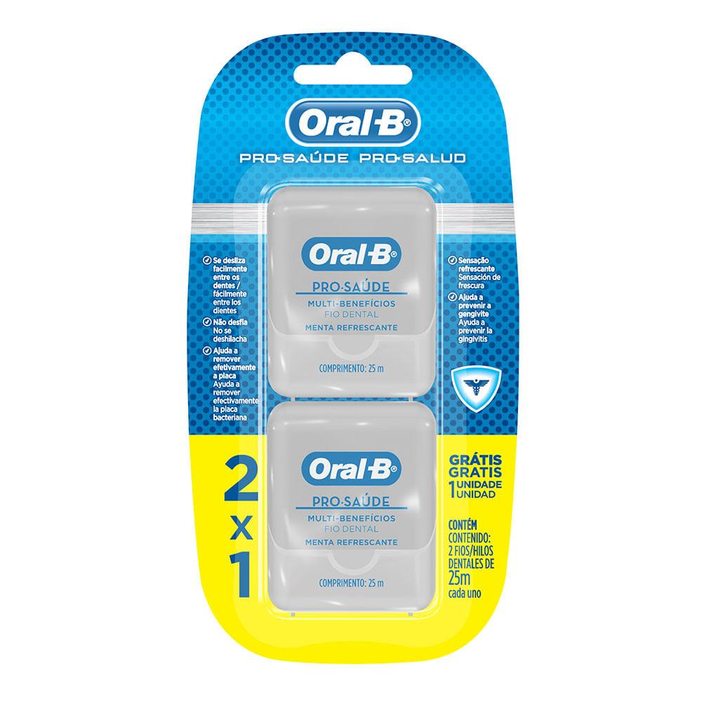 Fio Dental Oral - B Pro - Saúde Leve 2 Pague 1