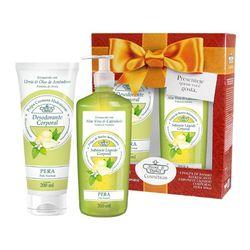 Kit-Flores---Vegetais-Hidrante-Coporal-200ml---Sabonete-Liquido-310ml-Pera