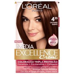 Kit-Tintura-L-Oreal-Imedia-Excellence-Creme-4.35-Castanho-Quente-00732.65