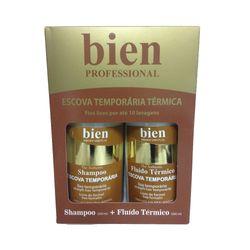 Kit-Bien-Escova-Temporaria-Termica-Shampoo-260ml-Fluido-260ml