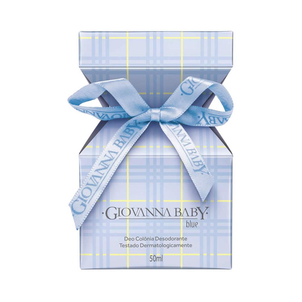 Deo Colônia Giovanna Baby Azul 50ml