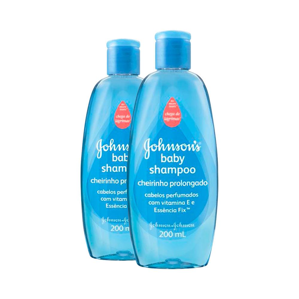 Kit Shampoo Johnson & Johnson Baby Cheirinho Prolongado Leve 2 Pague 1