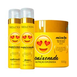 Kit-Seduction-apaixonada-Shampoo-300mlCondicionador-300ml-Gratis-Mascara-500g