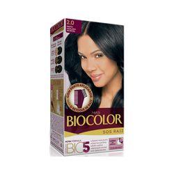 Tintura-Biocolor-SOS-Raiz-2.0-Preto-Azulado-Incrivel