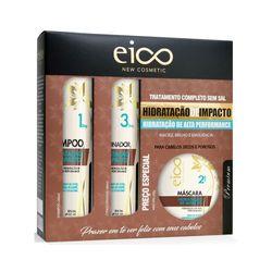 Kit-Eico-Hidratacao-de-Impacto-Shampoo---Condicionador---Mascara
