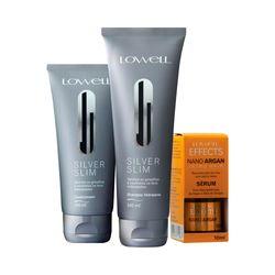 Kit-Lowell-Silver-Slim-Shampoo-240ml-Condicionador-200ml--Serum-Argan-10ml