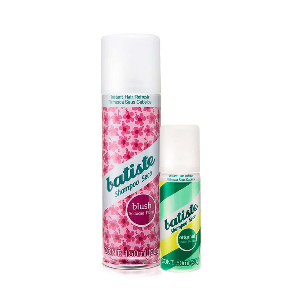 Kit Shampoo A Seco Batiste Blush 150ml Grátis 50ml Original