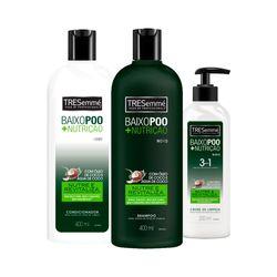 Kit-Tresemme-Baixo-Poo-Shampoo-400ml--Condicionador-400ml-Gratis-Creme-de-Limpeza-200ml-19471
