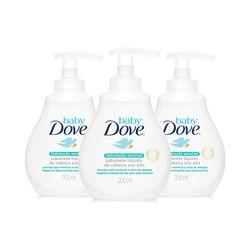 Kit-Dove-Baby-Sabonete-Liquido-200ml-Hidratacao-Sensivel-Leve-3-Pague-2-19482