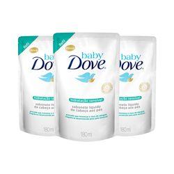 Kit-Dove-Baby-Sabonete-Liquido-180ml-Hidratacao-Sensivel-Refil-Leve-3-Pague-2-19485