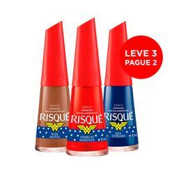 Leve-3-Pague-2-Esmalte-Mulher-Maravilha-Vermelho-Maravilha---Azul-Estrelado---Nude-Imortal