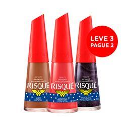Leve-3-Pague-2-Esmalte-Mulher-Maravilha-Nude-Imortal---Amazona-Poderosa---Bracelete-Indestrutivel