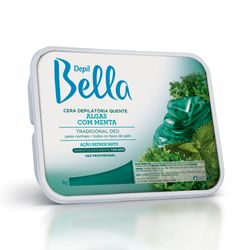 Cera-Depil-Bella-Verde-Algas-Menta-1000g-6651.00