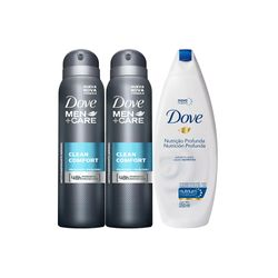 Kit-2-Desodorantes-Dove-Aerosol-Masculino-Clean-Comfort-Sabonete-Liquido