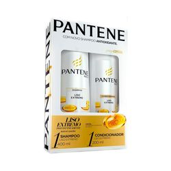 Kit-Pantene-Shampoo-400ml---Condicionador-200ml-Liso-Extremo