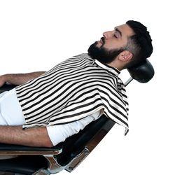 Capa-Para-Barbear-Listrada-Preta-e-Branco