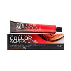 Tinta-Alpha-Line-Collor-6.71-Louro-Escuro-Marrom-Acinzentado