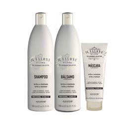 Kit-Altamoda-IL-Salone-Shampoo---Condicionador-500ml-Gratis-Mascara-Brilho-Vitalidade-250ml