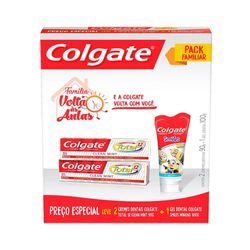 Kit-Creme-Dental-Colgate-Total-12-Clean-Mint-90g---Gel-Dental-Minions