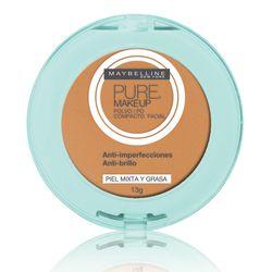Pó-Compacto-Maybelline-Pure-Make-Up-Dourado