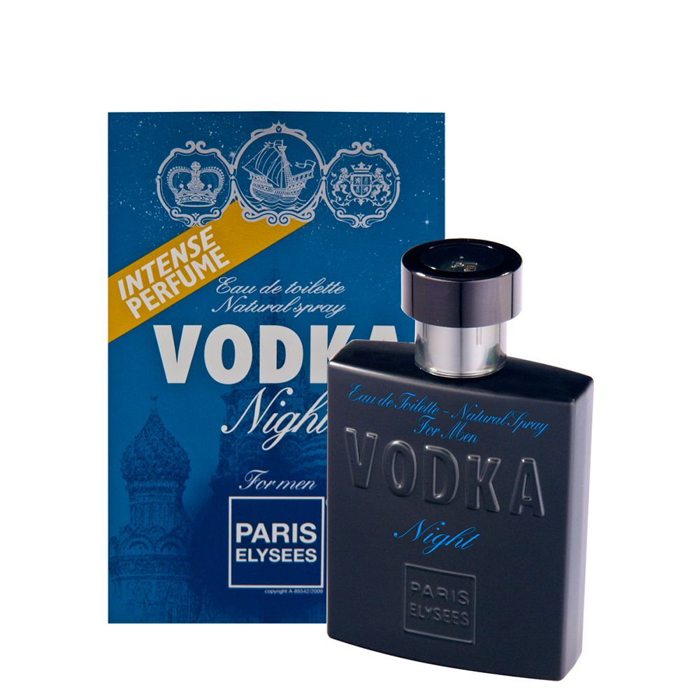 57b7341a5 Perfume EDT Paris Elysees Masculino Vodka Night 100ml - Ikesaki