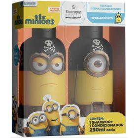 Kit-Shampoo---Condicionador-250ml-Minions-Pirata-10774.03