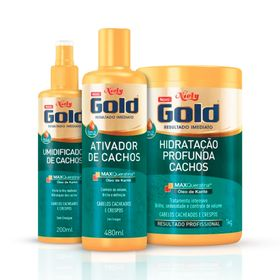 kit-niely-gold-cachos-hidratados