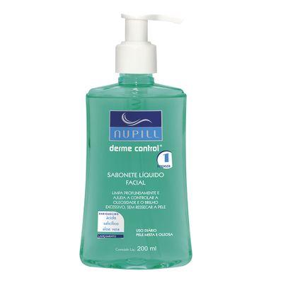 Sabonete-Liquido-Facial-Nupill-Derme-Control-200ml-32303.02