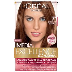 Kit-Tintura-L-Oreal-Imedia-Excellence-Creme-7.7-Chocolate-Dourado-00732.64