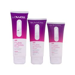 Kit-Lowell-Shampoo-240ml-Condicionador-200ml-Leave-in-180ml-Frutas-e-Flores-Roxas