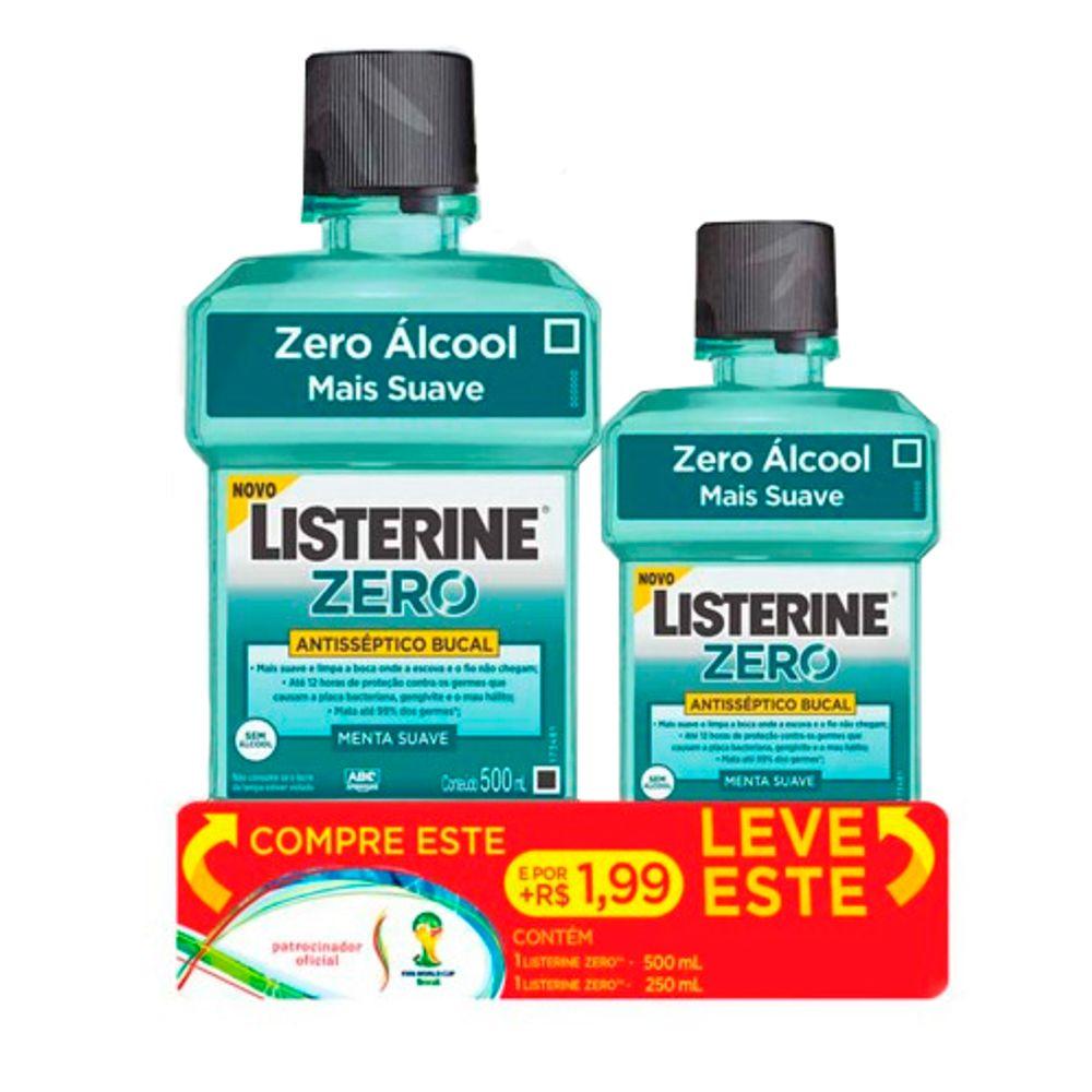 Antiseptico-Bucal-Listerine-Zero-Leve-500ml---250ml