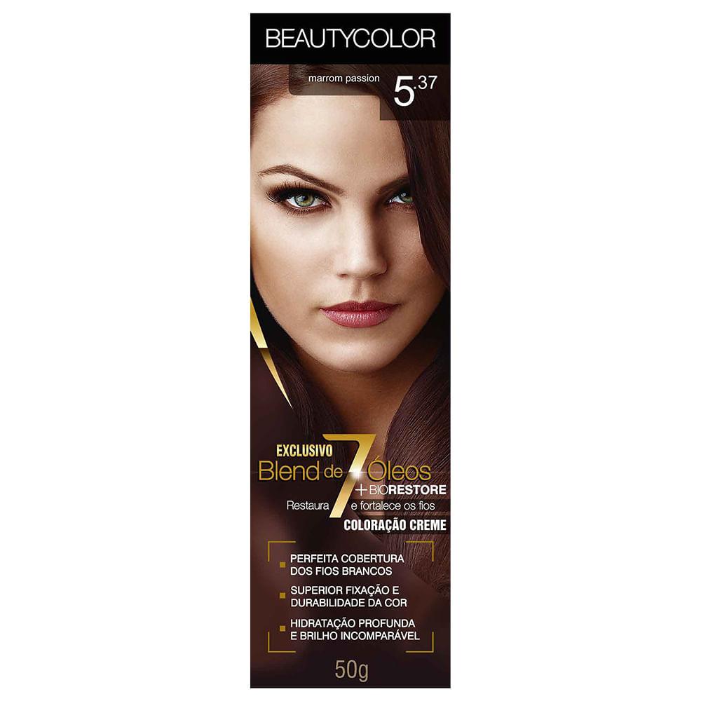 2350fbe16bb5 Tinta Beauty Color 5.37 Marrom Passion