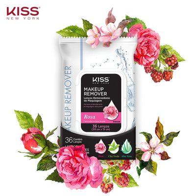 Lenco-Removedor-de-Maquiagem-Kiss-New-York-Rosas