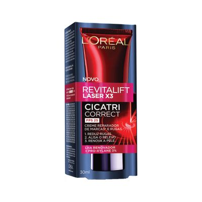 Creme-Antirrugas-L-Oreal-Revitalift-Laser-X3-Cicatri-Correct-FPS25-1