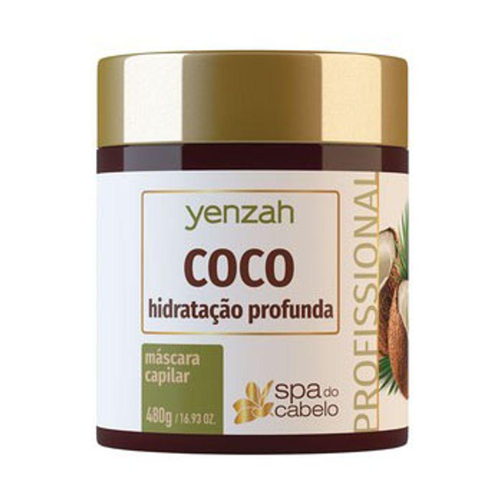 Mascara-Yenzah-SPA-do-Cabelo-Coco-480g