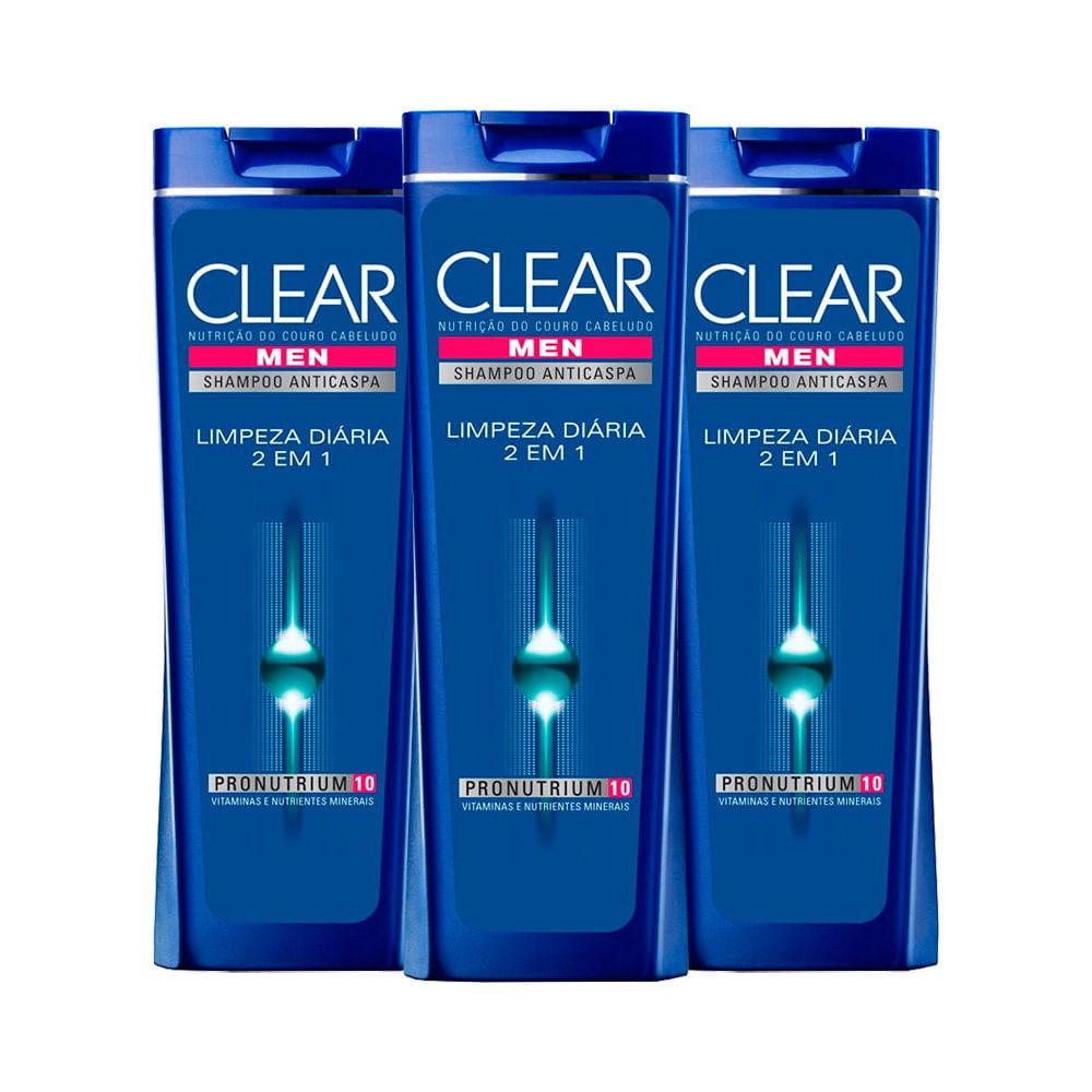 Kit-Clear-Shampoo-Anticaspa-Limpeza-Diaria-400ml-Leve-3-Pague-2-19469