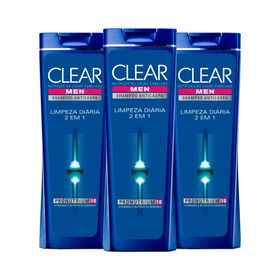 Kit-Clear-Shampoo-Anticaspa-Limpeza-Diaria-400ml-Leve-3-Pague-2-19469