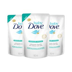 Kit-Dove-Baby-Sabonete-Liquido-180ml-Hidratacao-Sensivel-Refil-Leve-3-Pague-2-19485