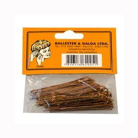 grampos-ballester-invisivel-loiro-pacote-100-unidades