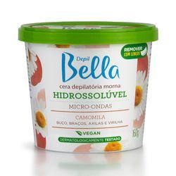 Cera-Depil-Bella-Hidrossoluvel-para-Microondas-Camomila-160g-16002.02