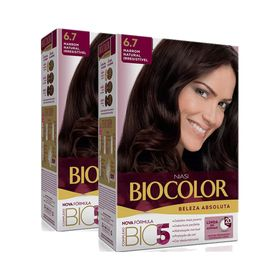 KIt-Tintura-Biocolor-Kit-Creme-6.7-Marrom-Natural-Irresistivel-Leve-2-Pague-1