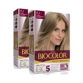 KIt-Tintura-Biocolor-Kit-Creme-8.1-Louro-Acinzentado-Estiloso-Leve-2-Pague-1