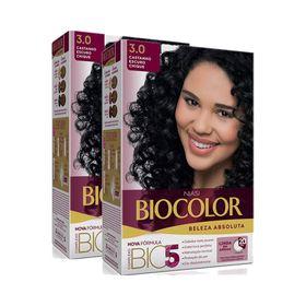 Kit-Tintura-Biocolor-Kit-Creme-3.0-Castanho-Escuro-Leve-2-Pague-1