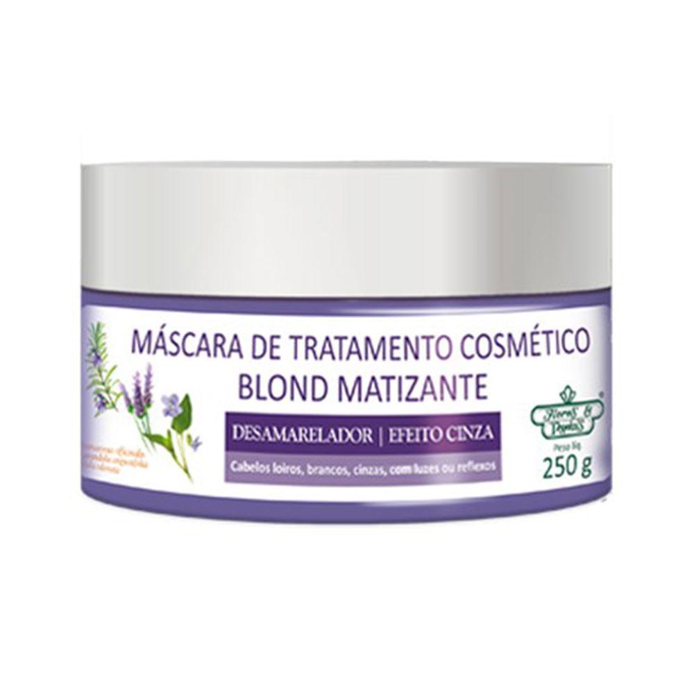 Mascara-Capilar-Flores-E-Vegetais-Blond-Matizante-250g