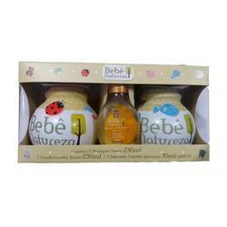 Kit-Bebe-Natureza-Shampoo-230ml-Condicionador-230ml--Sabonete-Liquido-30ml