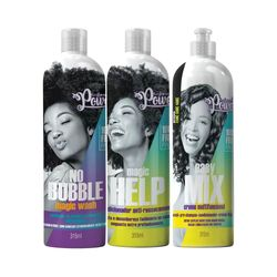 Kit-Soul-Power-Shampoo-No-Bubble---Condicionador-Anti-Ressecamento-Gratis-Cremes-Easy-Mix-315ml